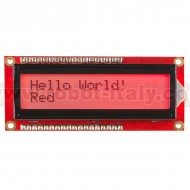 Display LCD 16x2 - RGB - Positivo