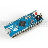 Arduino Micro with Headers - 5V 16MHz - (ATmega32u4 - assembled)