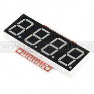 OpenSegment Serial Display - 20mm (Yellow)