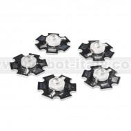LED - 3W Aluminum PCB (5 Pack, Blue)