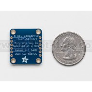 Standalone 5-Pad Capacitive Touch Sensor Breakout - AT42QT1070 -