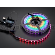 Adafruit NeoPixel Digital RGB LED Strip - Black 60 LED - BLACK 4 Metri
