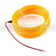 Bendable EL Wire - Yellow 3m