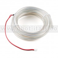 Bendable EL Wire - White 3m