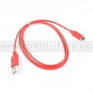 Sparkfun - USB 2.0 Cable A to C - 1 metro