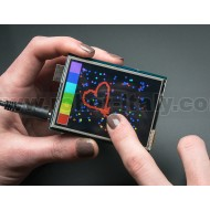 """2.8"""" TFT Touch Shield for Arduino with Resistive Touch Screen"""