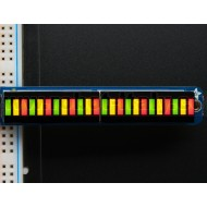 Bi-Color (Red/Green) 24-Bar Bargraph w/I2C Backpack Kit -