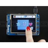 "PiTFT Plus Assembled 320x240 2.8"" TFT + Resistive Touchscreen - Pi 2 and Model A+ / B+"