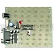 PIC-P18 Proto Board per PICMicro a 18pin 20Mhz