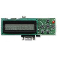 PIC-MT Modulo per PIC 28pin con Display LCD e periferiche