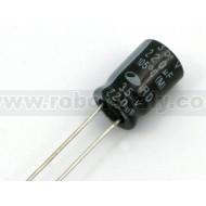Condensatore Elettrolitico 220µF 35V P=3.5 - 5Pcs