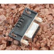 Connettore DB9 F da circuito stampato a 90°