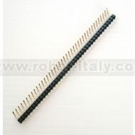 Strip Maschio Passo 2,54 a 90° - 40 pin