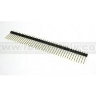 Strip Maschio Passo 2,54  - 40 pin, altezza 12mm