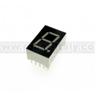 Display a led 7 segmenti - CC - verde