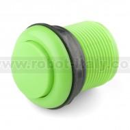 "Pulsante ""arcade"" 3.3cm convesso - verde"