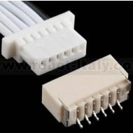 Cavo + Connettore da PCB tipo JST SH - 6 poli
