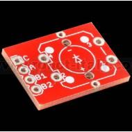 Breakout Board per pulsante da PCB con led incorporato