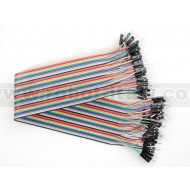 "Premium Male/Male Jumper Wires - 40 x 12"" (300mm)"