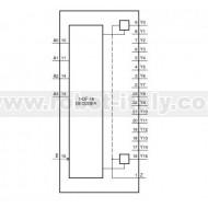 HEF4067BP - Mux/DeMux Analogico a 16 canali