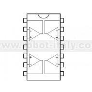 TL074C - Amplificatore operazionale quadruplo