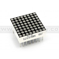 Matrice a led Rossi 8x8 20mm