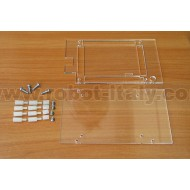 A20-ENC - A20-OLINUXINO LASER-CUT PLEXYGLASS ENCLOSURE