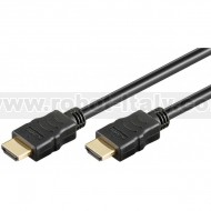 Cavo HDMI High Speed con Ethernet A/A M/M 2 m Nero
