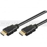 Cavo HDMI High Speed con Ethernet A/A M/M 2 m Nero
