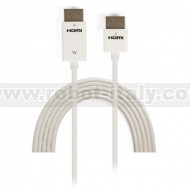 Cavo HDMI High Speed con Ethernet Ultra Slim 1 m