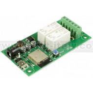 ESP32LR20 - WIFI 2 x 16A relays