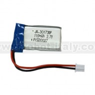 BATTERY-LiPo110mAh - RECHARGABLE LI-PO BATTERY 3.7V 110MAH WITH JST CONNECTOR