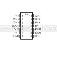 LM3900N - Amplificatore Operazionale Quadruplo