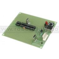 PIC-P28-USB Proto Board USB per PICMicro a 28pin 20Mhz