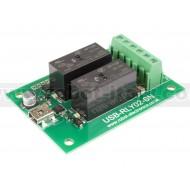 USB-RLY02-SN - 2 x 16A USB