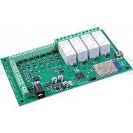 WIFI484 - 4 Relays at 16A, 8 Digital IO and 4 Analogue Inputs