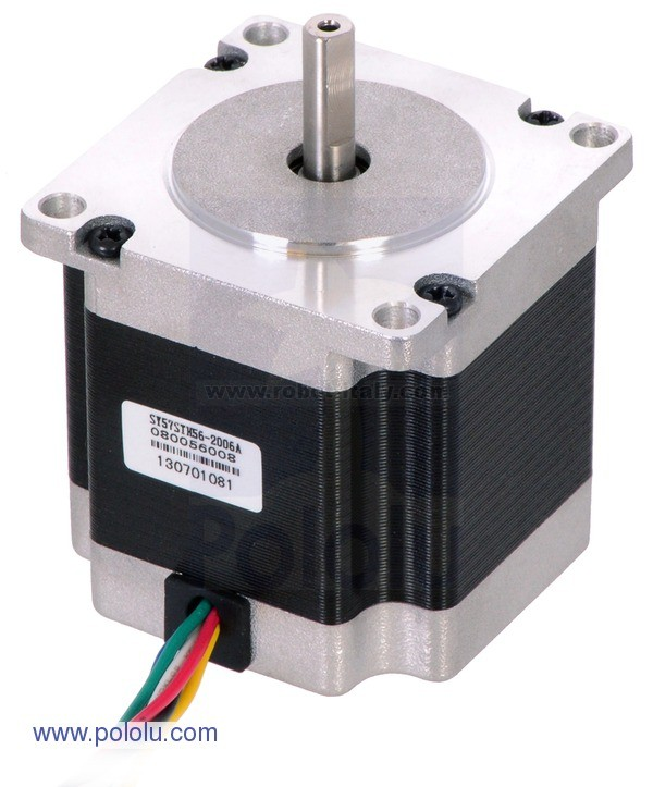 582510 stepper motor unipolar bipolar 200 steps rev for How to size a stepper motor