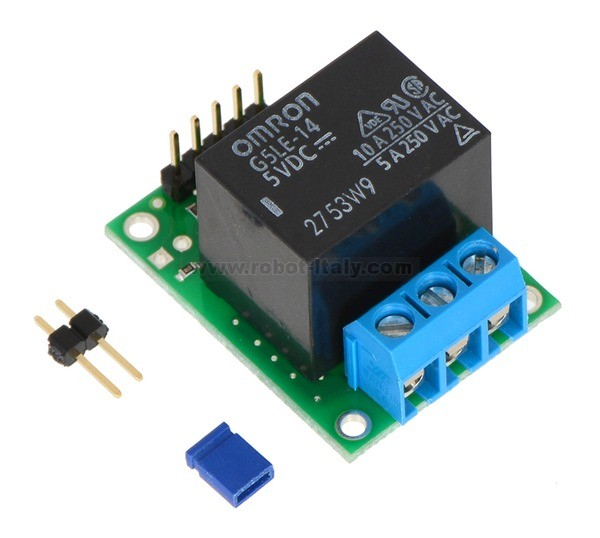 582804 2804 Pololu Rc Switch With Relay Assembled