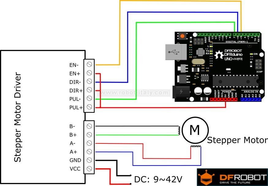 120043 tb6600 stepper motor driver da dfrobot a 16 for What is a stepper motor controller