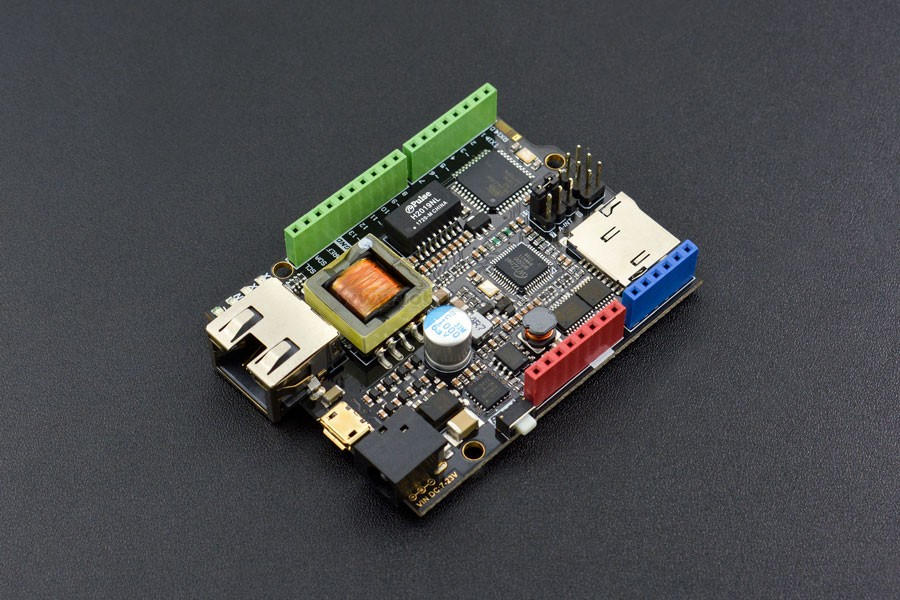 W ethernet with poe iot board arduino