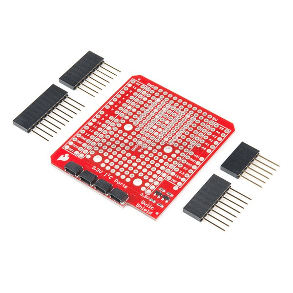 Sparkfun qwiic shield for arduino da a
