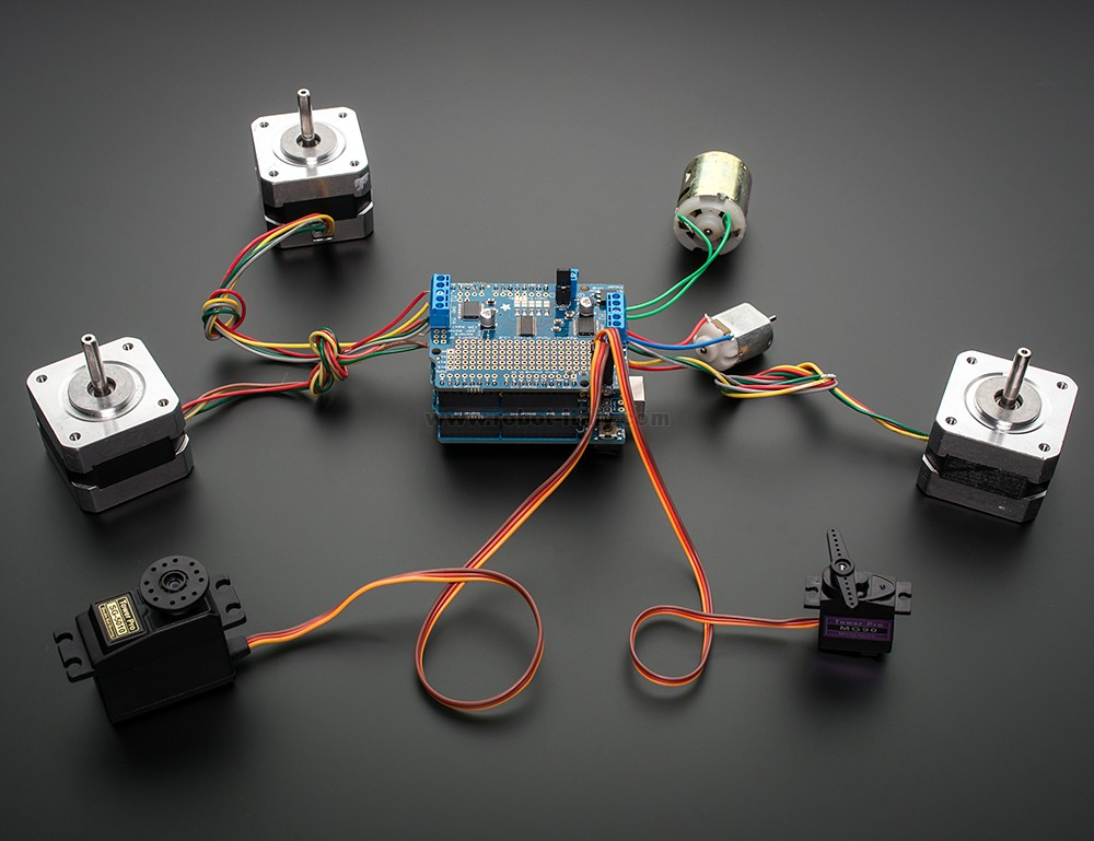 Adafruit Mini Pan-Tilt Kit - Assembled with Micro Servos