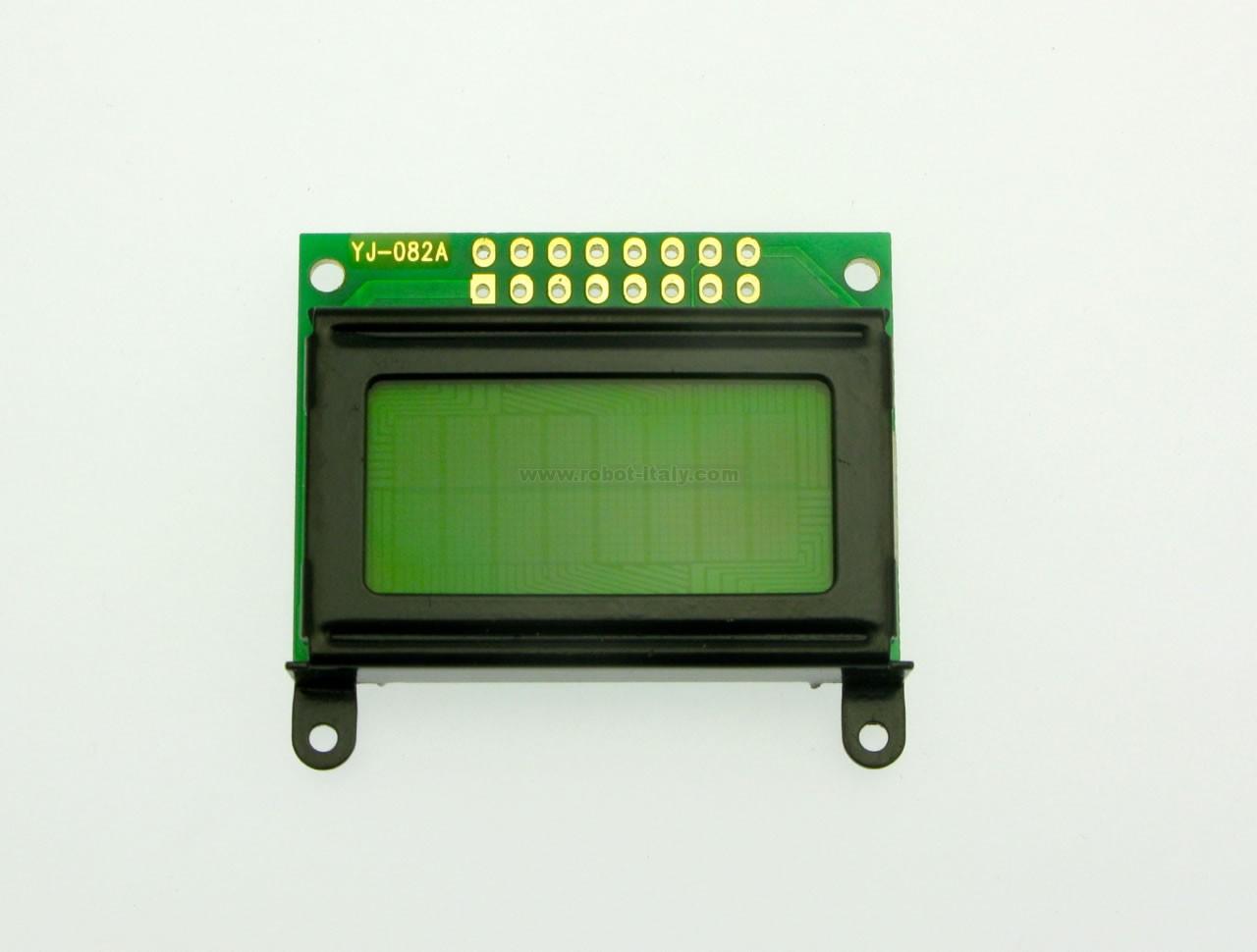 Modulo display lcd per arduino raspberry 20x4 2004 retroilluminato blu hd44780