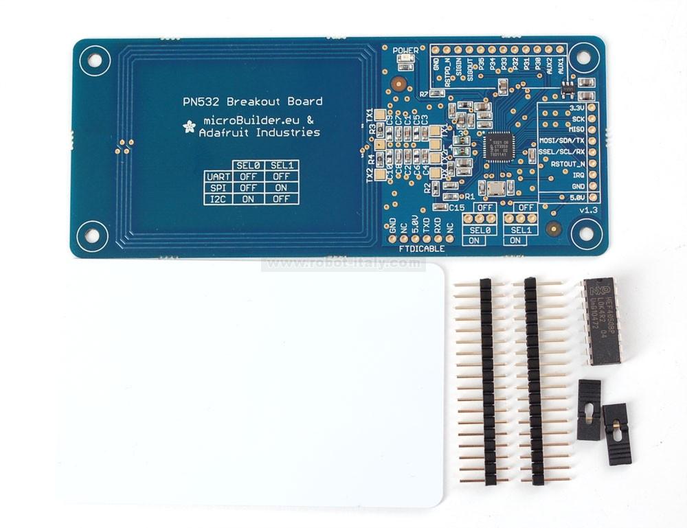 501364 - PN532 NFC/RFID controller breakout board - v1 3 , da