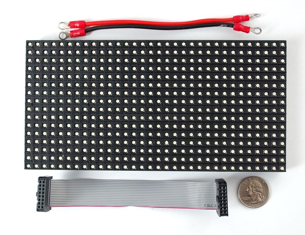807649 medium 16x32 rgb led matrix panel da adafruit a 29 92 su robot italy. Black Bedroom Furniture Sets. Home Design Ideas