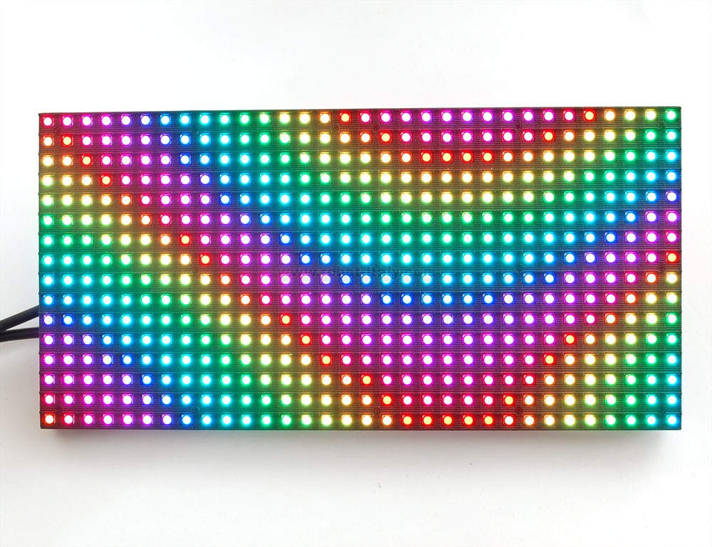 807649 medium 16x32 rgb led matrix panel da adafruit a 29 92 su robot italy. Black Bedroom Furniture Sets. Home Design Ideas