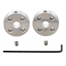 1998 - Pololu Universal Aluminum Mounting Hub for 5mm Shaft, M3 Holes (2-Pack)