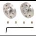 1999 - Pololu Universal Aluminum Mounting Hub for 6mm Shaft, M3 Holes (2-Pack)